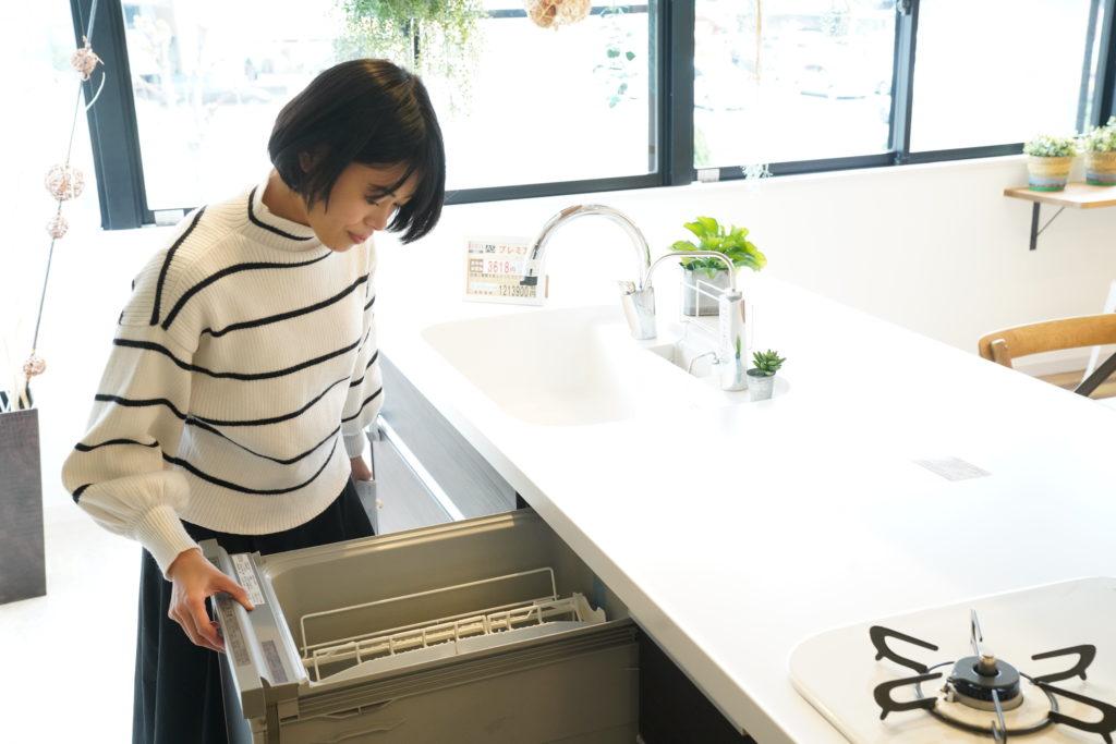 食洗機がついてる